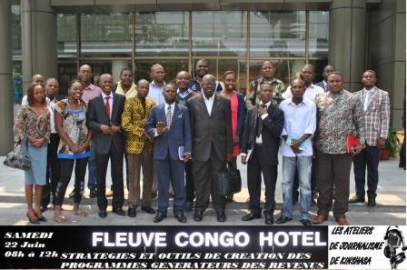 Les Ateliers de Journalisme de Kinshasa : Stratégies et outils de création des programmes générateurs des revenus